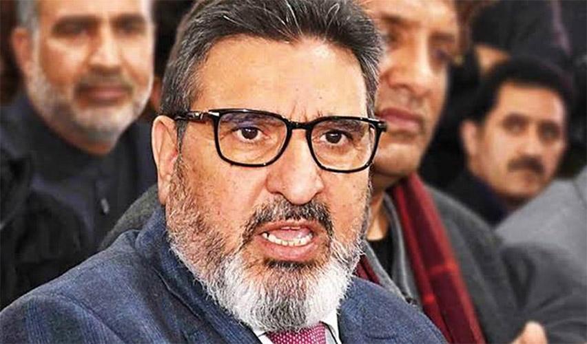 JKAP delegation led by Altaf Bukhari called on Lt. Governor