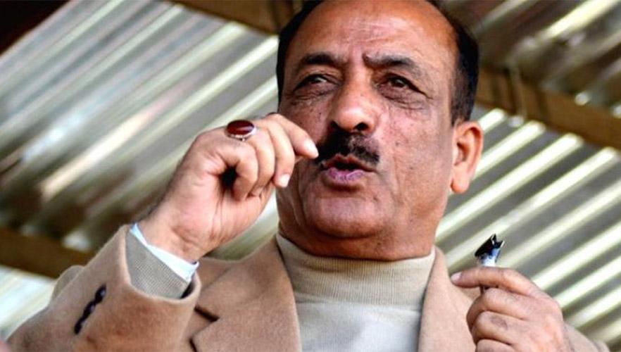 JKAP delegation led by Dilawar Mir calls on Lt Governor